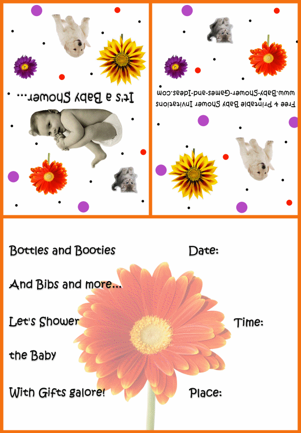 Baby Animal Shower Invitation 3a