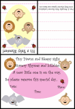 shower invitations with baby animals 2b