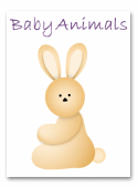 Baby Animal Shower Invitations