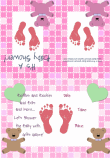Baby Girl Shower Invitation 2A