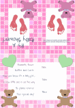 Baby Girl Shower Invitation 2B