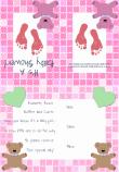 Baby Girl Shower Invitation 2B