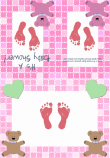 Baby Girl Shower Invitation 2C