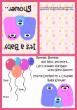 couples baby shower invitation 3a
